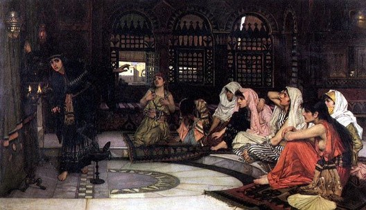 John William Waterhouse: Consulting the Oracle - 1882
