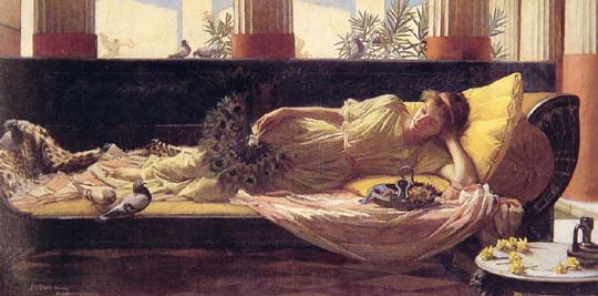 John William Waterhouse: Dolce Far Niente - 1880