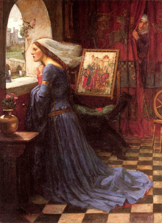 John William Waterhouse: Fair Rosamund - 1905