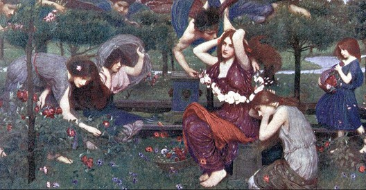 John William Waterhouse: Flora and the Zephyrs - 1898