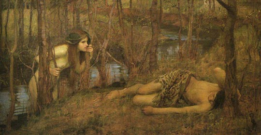 John William Waterhouse: A Naiad - 1905