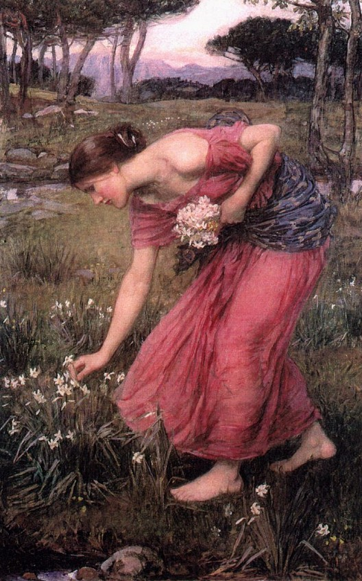John William Waterhouse: Narcissus - 1912