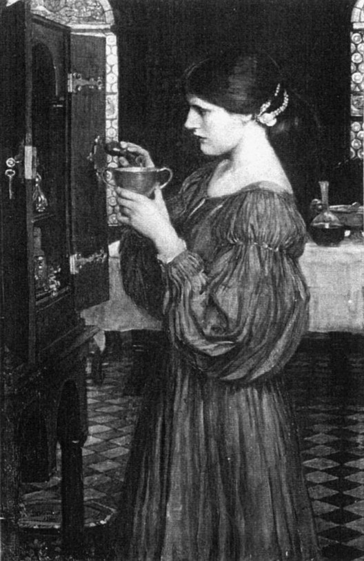 John William Waterhouse: The Love Philtre - 1914